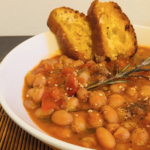The Food Cocoon. Zuppa di fagioli