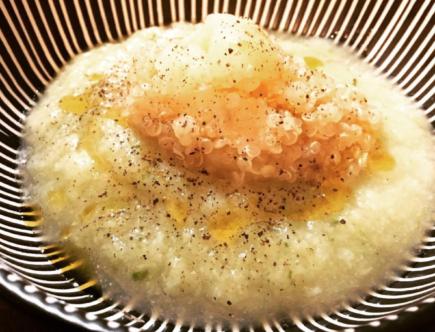The Food Cocoon - Crema di cavolfiore con quinoa