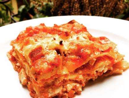The Food Cocoon - Lasagna vegana al tofu