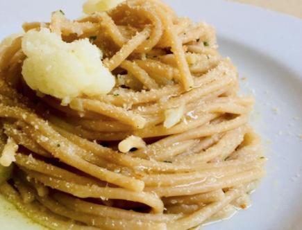 The Food Cocoon - Spaghetti, cavolfiore e pangrattato