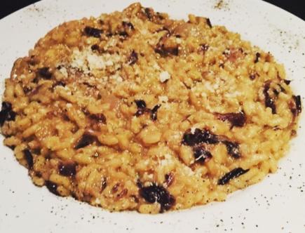 The Food Cocoon - Risotto con trevigiana al vino rosso