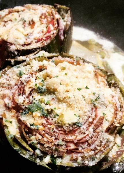 The Food Cocoon - Carciofi pangrattato e capperi