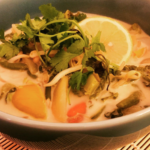 The Food Cocoon - Coconut milk spicy soup