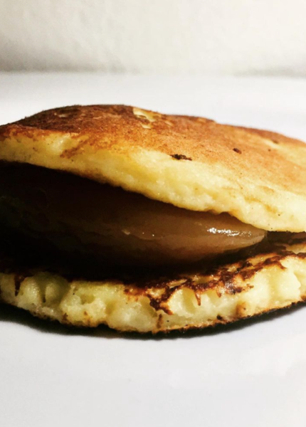 The Food Cocoon - Mini pancake con crema di marroni
